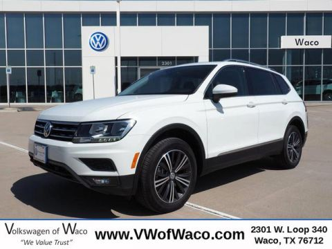 New 2019 Volkswagen Tiguan SEL FWD 2.0T SEL 4dr SUV
