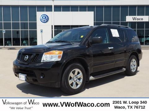 Pre-Owned 2015 Nissan Armada SV RWD 4D Sport Utility