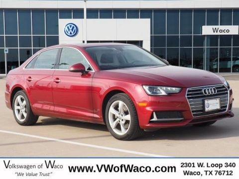 Pre-Owned 2019 Audi A4 2.0T Premium FrontTrak 4D Sedan