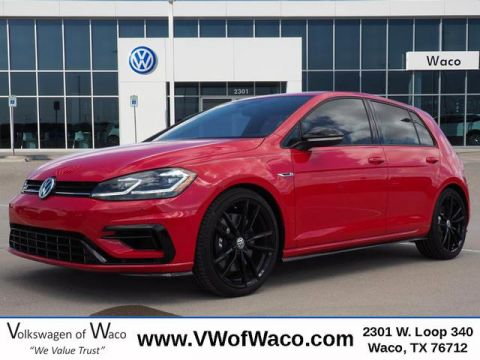 New 2019 Volkswagen Golf R w/ DCC® & Nav AWD AWD w/DCC and Navigation 4dr Hatchback 7A